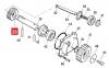 Шестерня редуктора TH1500 (PPD1858.4540) 0