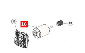 Электродвигатель TOONA4024, 5024, WINGO4024, 5024, X-Metro (MDC1788R01)