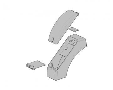 Крышки пластиковые в комплекте  (PRSO06)