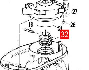 Червяк ROBO1124/ROKIT/ROBO500 (PMDVSF2R10.4610)