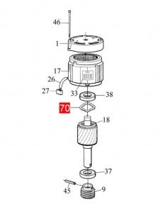 Кольцо компенсационное RO1000 (PMCAC.4630)
