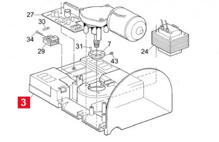 Подставка двигателя SHEL (PPD1317CR02.4540)