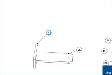 Пластина кронштейна крепления заднего (PMD1639.4610)