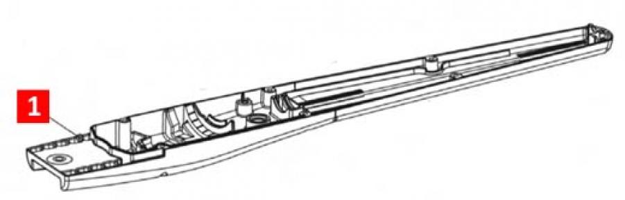 Корпус низ TOONА5  (BMG1594R03.45673)